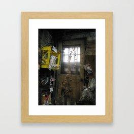Forgotten Doorway Framed Art Print