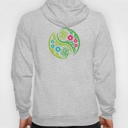 Yin Yang Flower Hoody