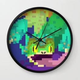Pukei Pukei Wall Clock