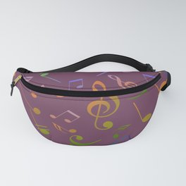 Musical Notes 18 Fanny Pack