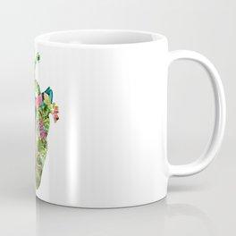 Botanical Heart Mint Coffee Mug