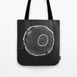 Huevos (on Black) Tote Bag