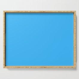 Cheap Deep Sky Blue Color Serving Tray