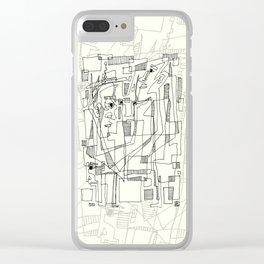 Conversation Clear iPhone Case