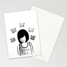 Friggin' Cats Stationery Cards