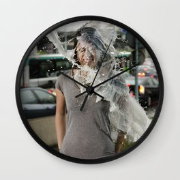 Veroniqu Hahn - Le Grand Spectacle du Lait // The Grand Spectacle of the Milking Wall Clock