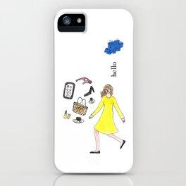 Hello Woman iPhone Case