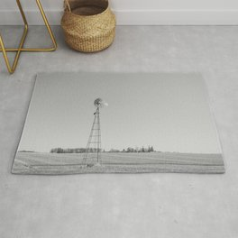 Windmill in the Countryside Rug