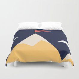 The Mountain Duvet Cover