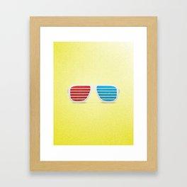 3D in Style Framed Art Print