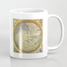 The Fra Mauro World Map Circa 1450 Coffee Mug