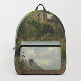 Camille Pissarro - The Artist's Garden at Eragny Backpack