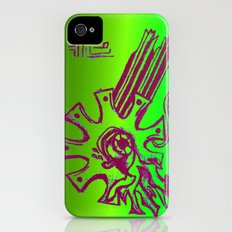 Simplistic Alien Slim Case iPhone (4, 4s)