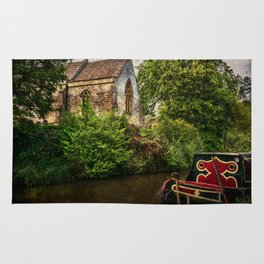 Church By The Oxford Canal Rug