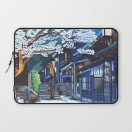 Under the Cherry Blossoms, Spring Laptop Sleeve