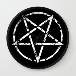 Baphomet Symbol Wall Clock