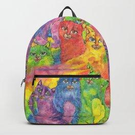 Rainbow cats Backpack