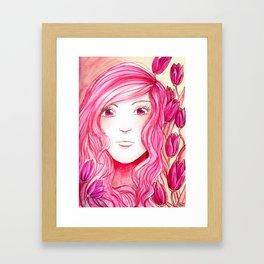 Colour Theme - Pink Framed Art Print