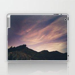 Cloudy night sky Laptop & iPad Skin