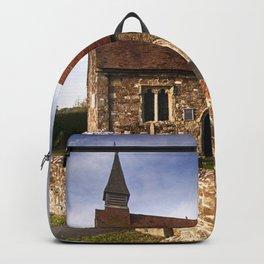 St Mary The Virgin Ebony Backpack