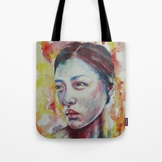 Liu's Sunrise Tote Bag