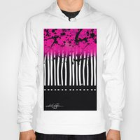 artsy Hoodies featuring Artsy Noise by Kathy Morton Stanion
