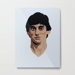 Enzo Francescoli Metal Print