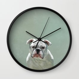BILL the Bulldog Wall Clock