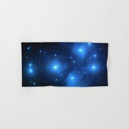 "The Pleiades (""The Seven Sisters"") (NASA/ESA/Palomar Observatory) Hand & Bath Towel"