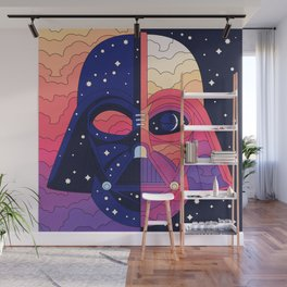 """""""The Dark & The Light - Darth Vader"""" by Berlin Michelle Wall Mural"""