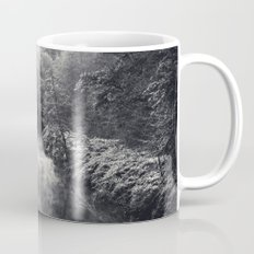 River in Black and Silver Mug