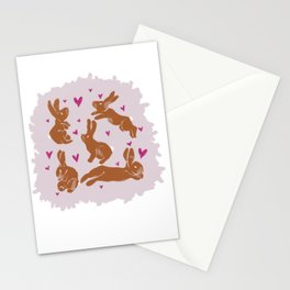 Bunny Love - Easter edition Stationery Cards