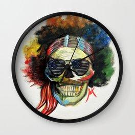 Jimmy Hendrix Wall Clock