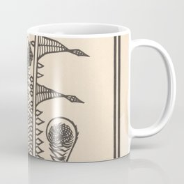 Nouveau Fiddleheads Coffee Mug