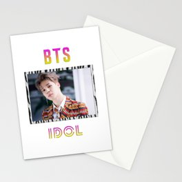 BTS Song IDOL Design - Jimin Stationery Cards
