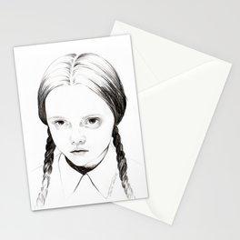Wednesday Addams / Christina Ricci Stationery Cards