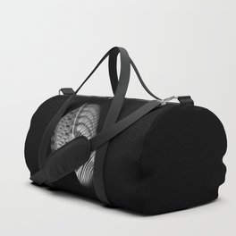 Zebra Portrait Duffle Bag