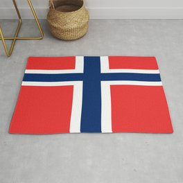 Flag of norway Rug