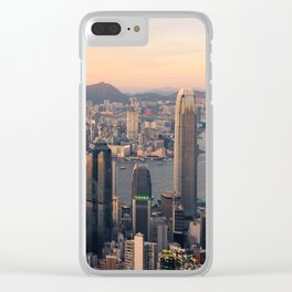 HONG KONG 08 Clear iPhone Case