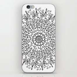 Spring mandala iPhone Skin