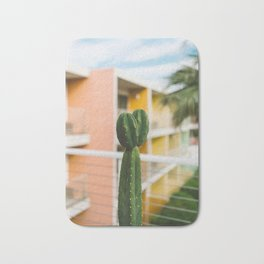 Palm Springs Cactus Bath Mat