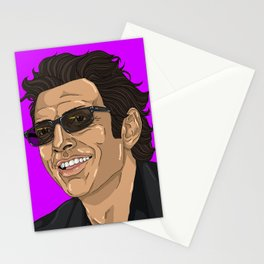 Jeff in Purple Stationery Cards