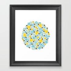 Busy Little Honeybees Framed Art Print