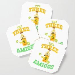 The Three Amigos Cinco De Mayo Tequila Mexico Chili Mexican Nachos Gift Coaster