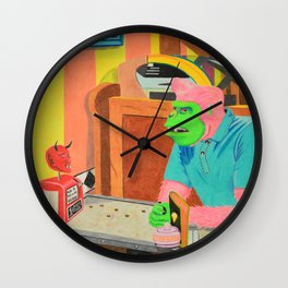 All the Wrong Questions Wall Clock