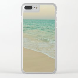 Shoreline II Clear iPhone Case