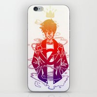 prince iPhone & iPod Skins featuring Prince by Lance Phillips