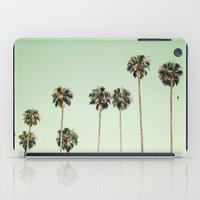 palm trees iPad Cases featuring Palm Trees  by Laura Ruth