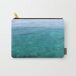The Turquoise Coast Carry-All Pouch