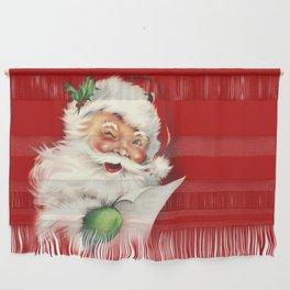 Vintage Santa Wall Hanging